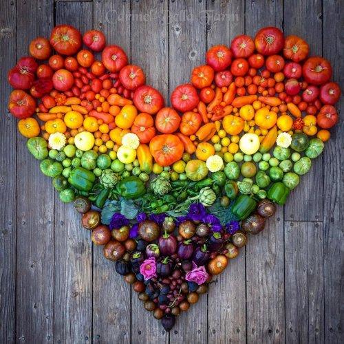 Владелица фермы делает красочные фотографии натуральных продуктов, выращенных без химикатов (18 фото)