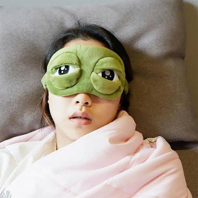 фото глаз спать сделать