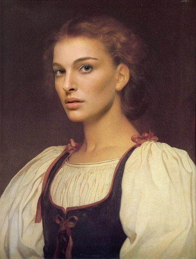 окна женщина фото известных портретистов тонкими волосами