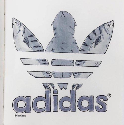 Известные логотипы с котейками были бы гораздо привлекательнее (10 фото)