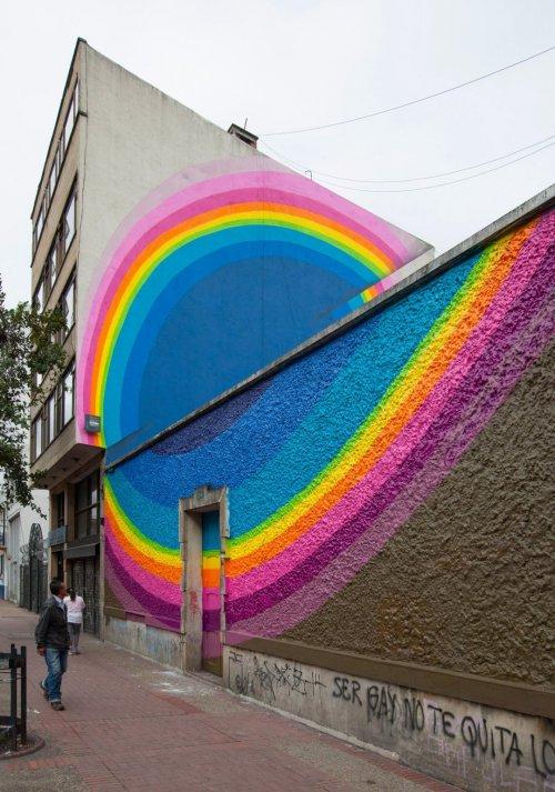 Красочный стрит-арт чешского уличного художника Яна Калаба (9 фото)