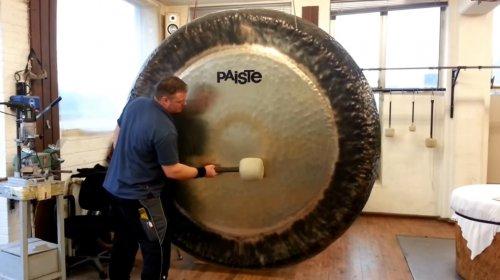 Вы когда-нибудь слышали, как звучит 2-метровый симфонический гонг?