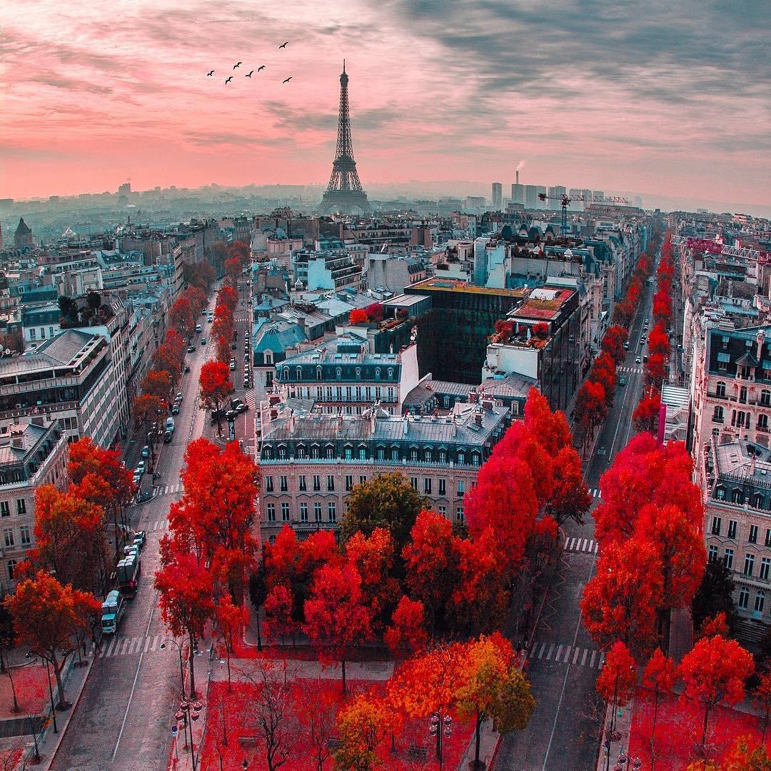 коллаж картинки города красные обязательно спросите