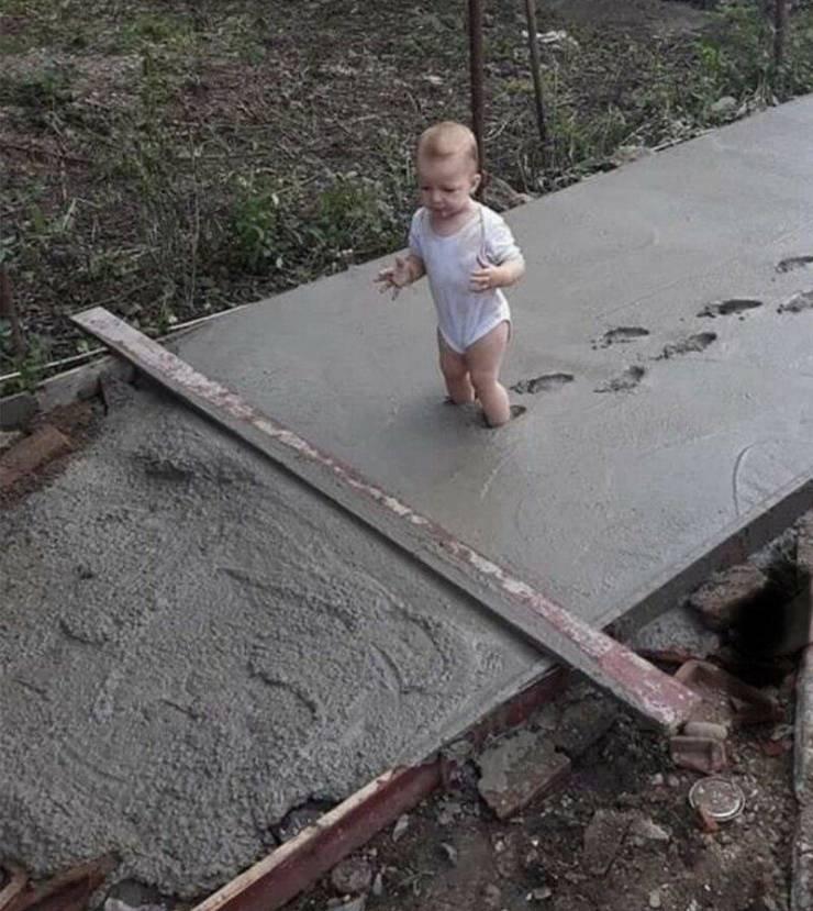 Смешные фото про бетон