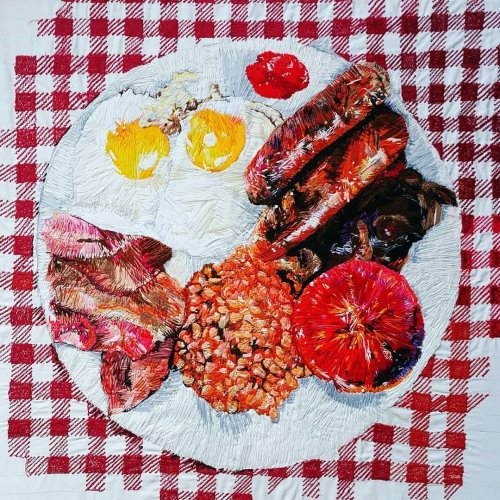 Аппетитные вышитые картины Хлои Эми Эвери (10 фото)