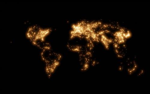 Карты мира от Питера Этвуда, которые знакомят с инфраструктурой нашей планеты (5 фото)