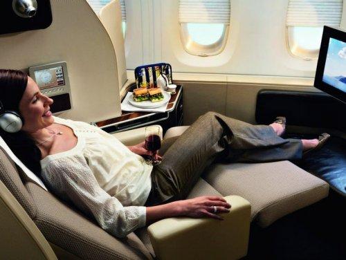 ТОП-10: Вещи, которые получают пассажиры первого класса и которых нет у пассажиров второго класса