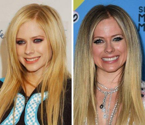 Знаменитые певицы и музыканты тогда и сейчас (19 фото)