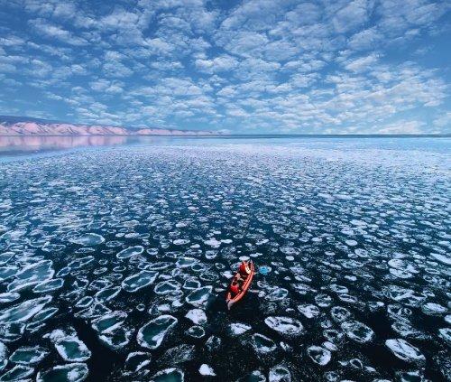 Безупречная красота весеннего Байкала в фотографиях Кристины Макеевой (21 фото)