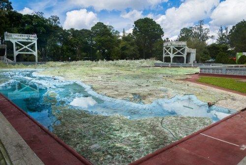 Рельефная карта Гватемалы (8 фото)