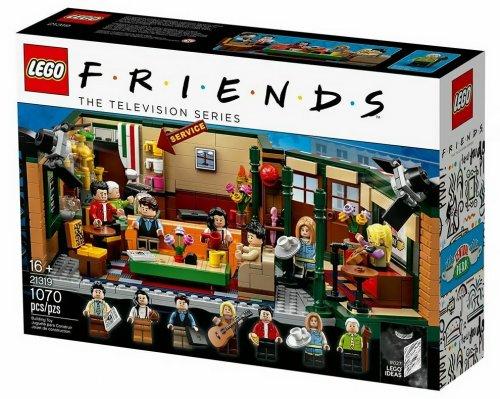 """Сериал """"Друзья"""", наконец, получил свою LEGO-версию (11 фото + видео)"""