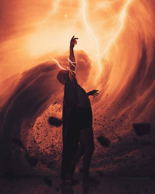 Сюрреалистические фотоманипуляции Мустафы Саида Билира (22 фото)