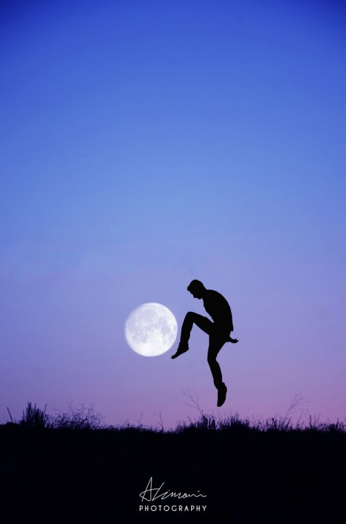Лунные силуэты Адриана Лимани (11 фото)