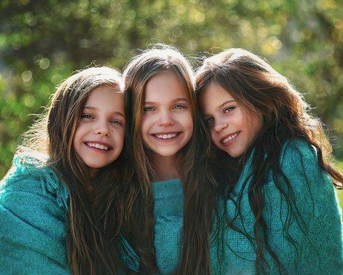 Сначала у пары родился ребёнок, затем двойняшки, а затем тройняшки (29 фото)