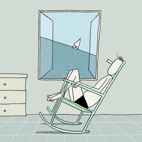 Романтично-сюрреалистические иллюстрации Юваля Робичека (33 фото)