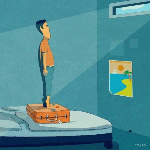 Горькая правда о современном мире в заставляющих задуматься иллюстрациях художника Iconeo (15 фото)
