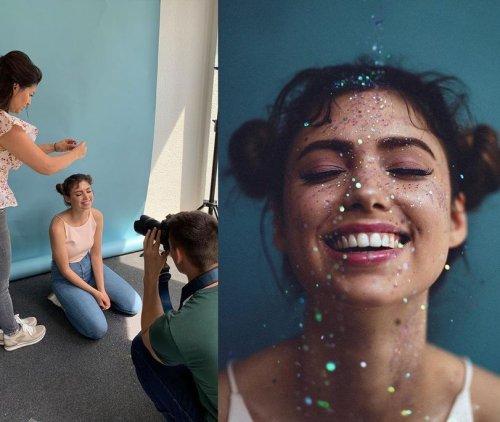Немецкий фотограф делает залипательные портреты девушек и делится закадровыми снимками (11 фото)