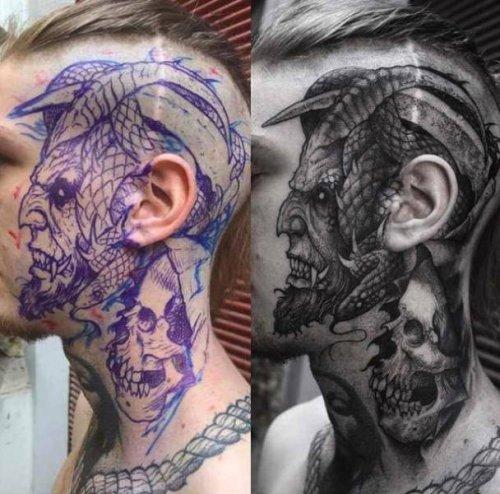 Самые необычные татуировки из всех, что вы до сих пор видели (19 фото)