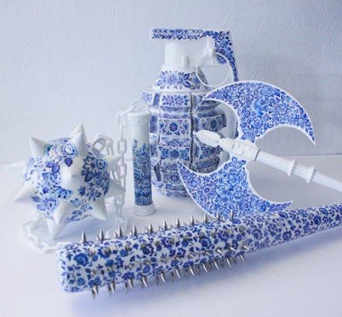 Керамическое оружие (9 фото)