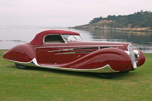 Самый красивый французский автомобиль 1930-х годов (12 фото)