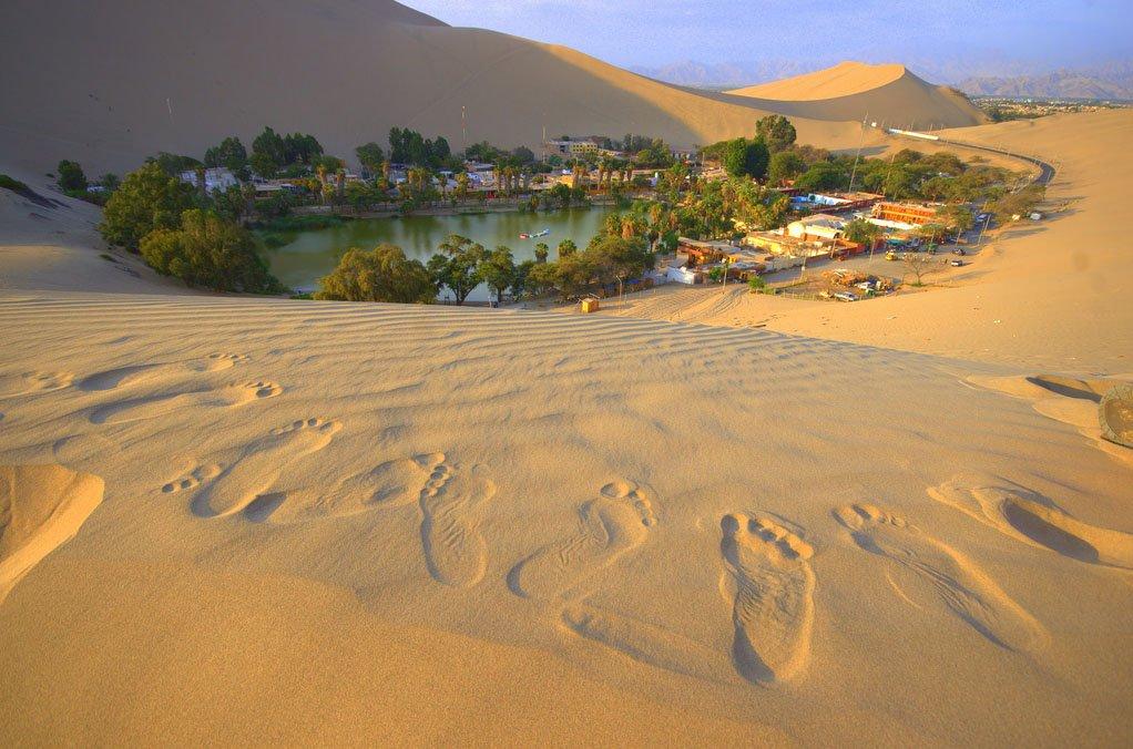 Побег в пустынный оазис: Уакачина, Перу (7 фото)
