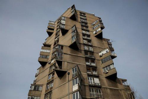 Брутальная архитектура социалистической Югославии (13 фото)