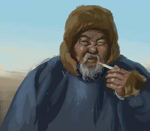 Художник из Екатеринбурга с иронией изображает повседневную жизнь в России (7 фото)