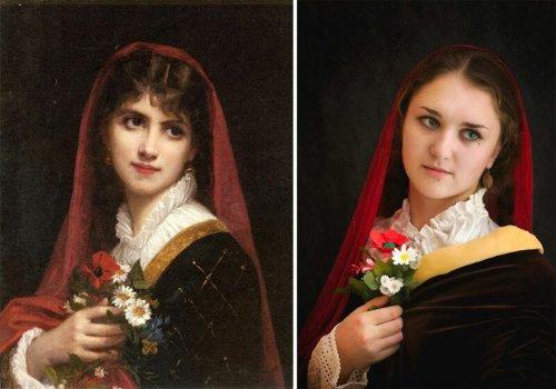 Сфоткай типа Рембрандт (13 фото)