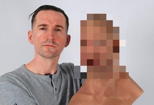Вы уверены, что этот человек не носит силиконовую маску? (4 фото)