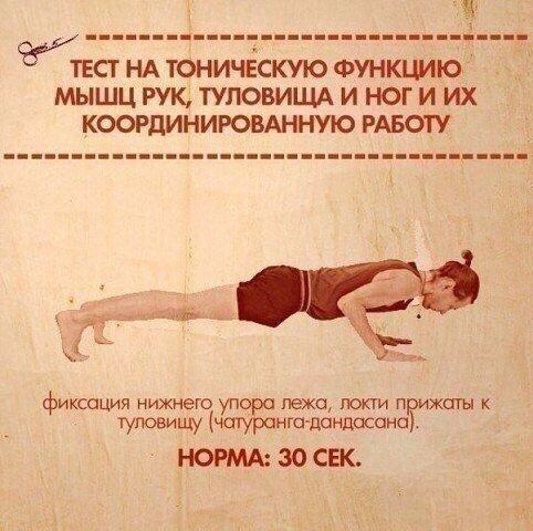 Тест на состояние мышечной системы (10 фото)