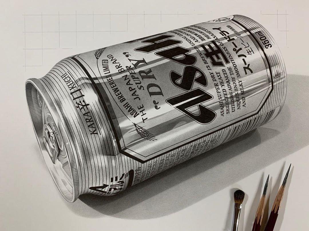Это вовсе не фотографии ─ это гиперреалистичные рисунки Кохея Омори (2