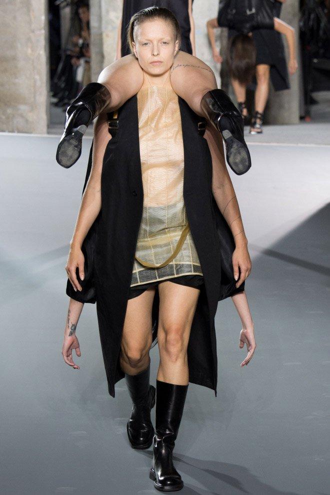 Что нам предлагает носить модный дизайнер Рик Оуэнс (16 фото)