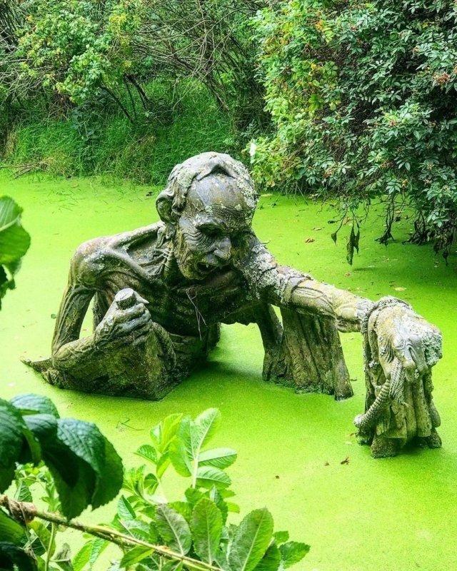 заведение фото необычные скульптуры в парках ромовый фестиваль, где