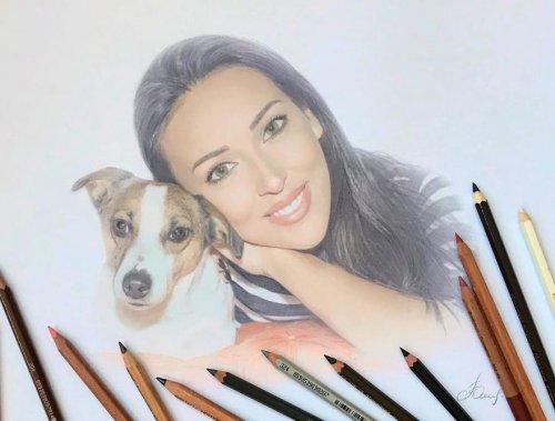 Вы не поверите, но это не фотографии ─ это карандашные рисунки талантливой российской художницы (39 фото)