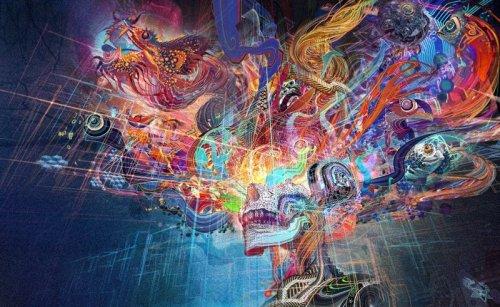 """19 поражающих воображение работ пионера визуального искусства Эндрю """"Андроида"""" Джонса"""