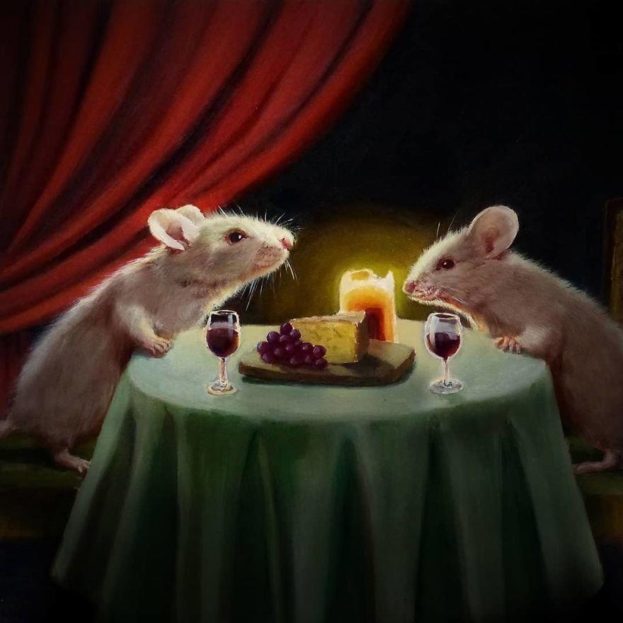 Картинки с мышонком прикольные