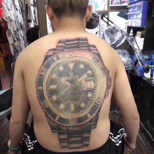Татуировки, которые можно было не делать (22 фото)