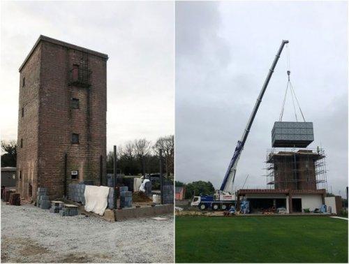Новая жизнь старой водонапорной башни (13 фото)