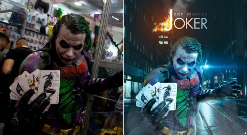 Фотографии косплейщиков с фестиваля Comic-Con на альтернативных постерах, которые оказались не хуже оригинальных (8 фото)