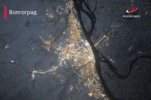 Вид из космоса: ночные города России (16 фото)