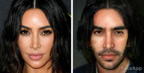 Как бы выглядели эти знаменитые женщины, если бы родились мужчинами (17 фото)
