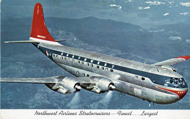Внутри Боинга 377 Стратокруизера, самого большого и быстрого самолёта в коммерческой авиации (12 фото)