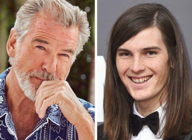 Дети знаменитостей не всегда похожи на своих родителей (14 фото)