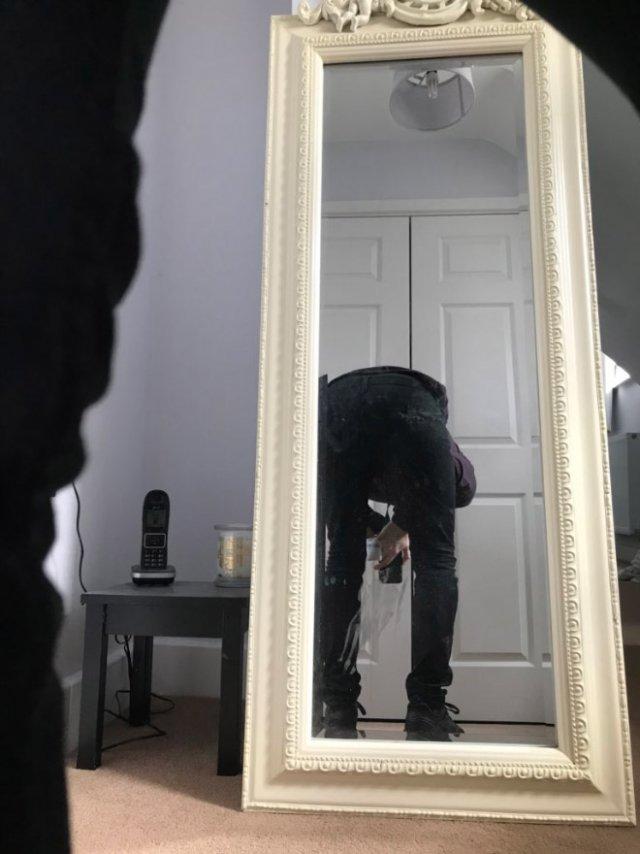 среднее сфотографировать в зеркале без камеры хорошо растут