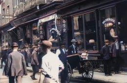 Полное погружение в атмосферу уличной жизни Нью-Йорка 1911 года