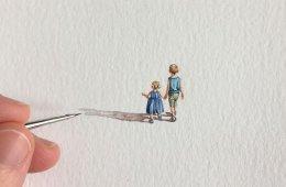 Крошечные и невероятно детализированные рисунки Брук Ротшанк (33 фото)