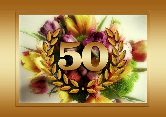 Смешные поздравления на 50 лет женщине