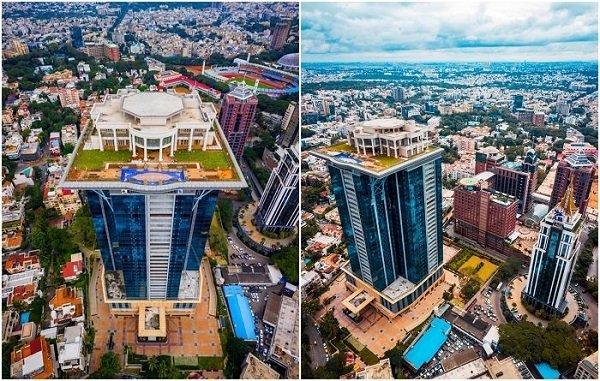 Индийский олигарх строит свой собственный Белый дом на вершине небоскреба (5 фото)