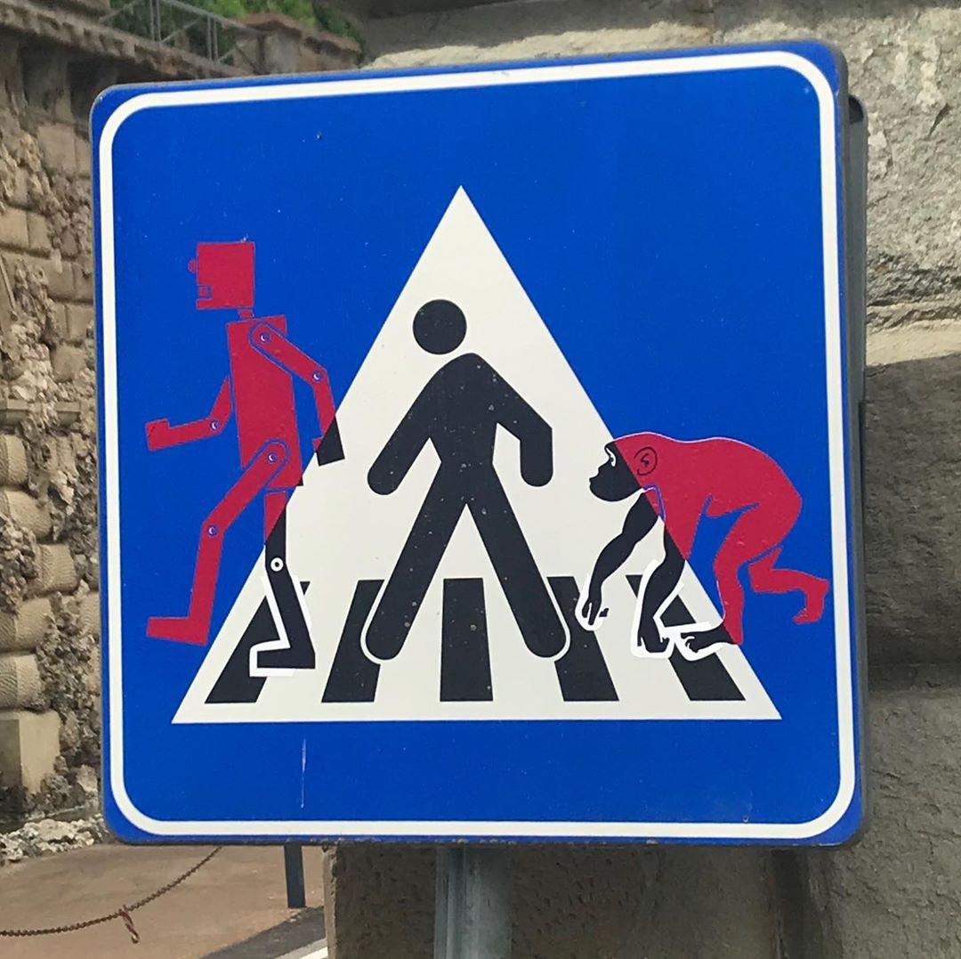 картинки дорожные знаки приколы опубликовала единственную
