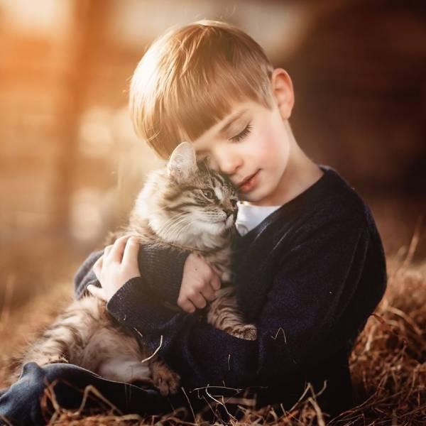 Максимальная мимишность: малыши и животные (28 фото)